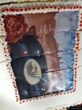 کیک تولد استاد شجریان