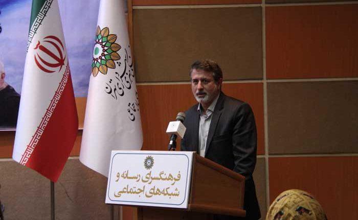 دکتر اسماعیلی مدیر فرهنگسرای رسانه وشبکه های اجتماعی