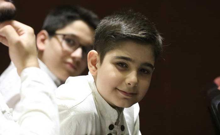 جشن تولد رادیو در ایران - ارمغان اردیبهشت 98-هنرمندان نوجوان گروه موسیقی استاد معین